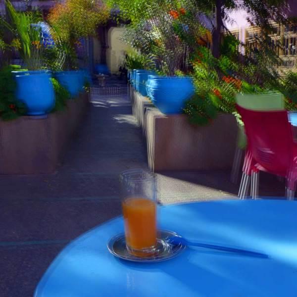 Un jus d'oranges sanguines survitaminé