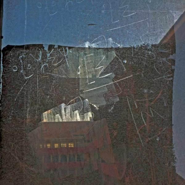 Graffiti sur verre 2