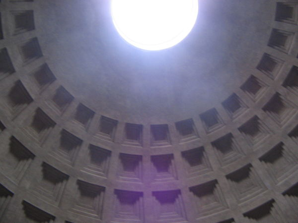 Rome Parthenon interior