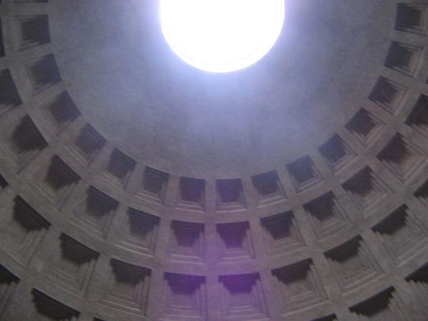 Rome Parthenon interior