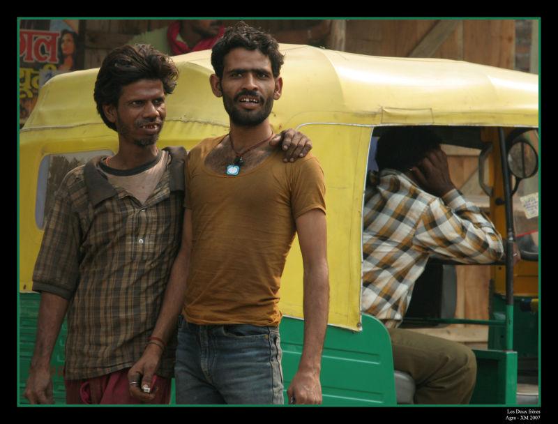 Inde : Portraits fraternels