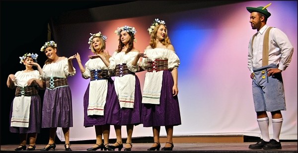 "Milk Maids Singing in ""The Producers"" Maine"