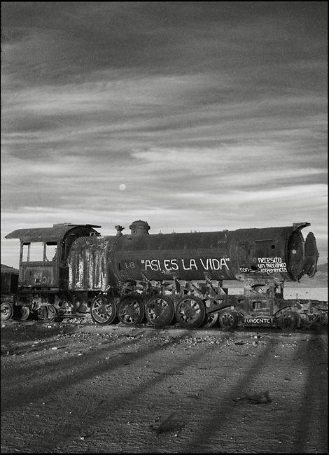 cementerio de los trenes