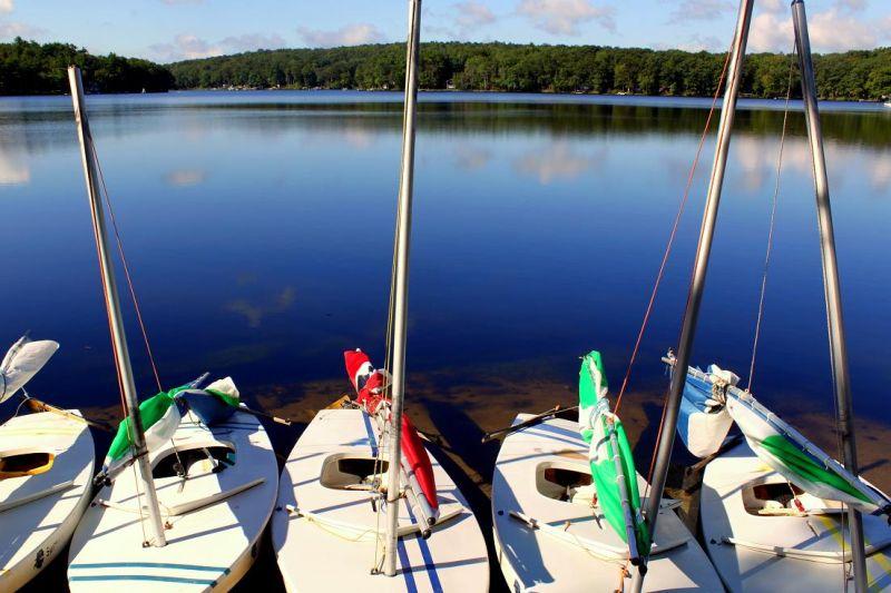 Morning Sailboats