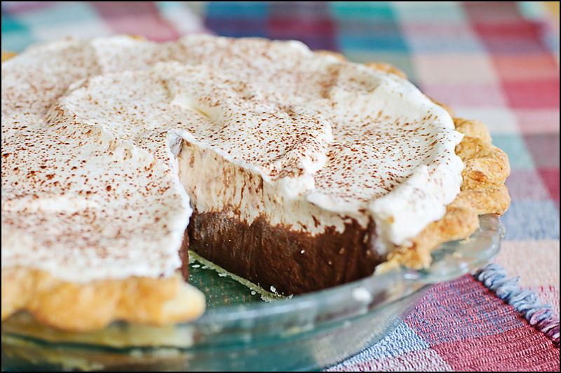 Best ever chocolate cream pie