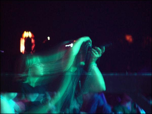 Concert photograher gets her shot
