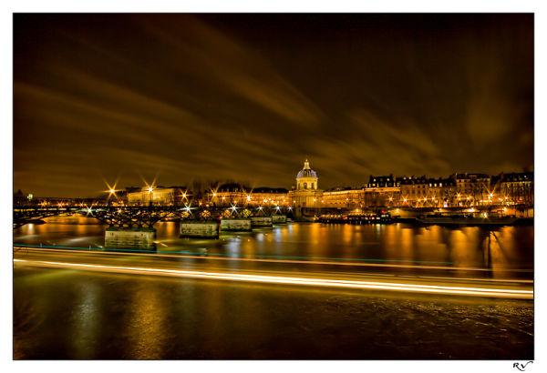 L'institut de France de nuit