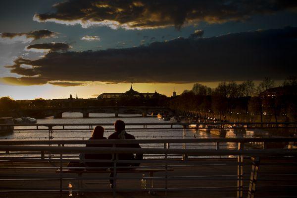 Sur les bords de la Seine
