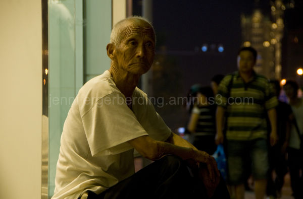 Old Man and Night Life