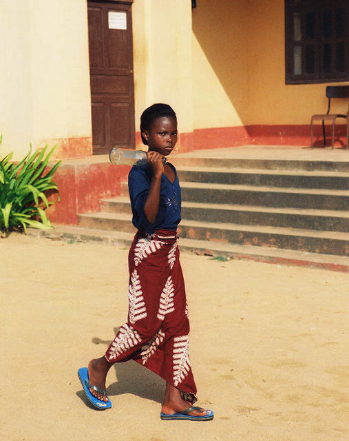 Girl from Anécho (Togo)