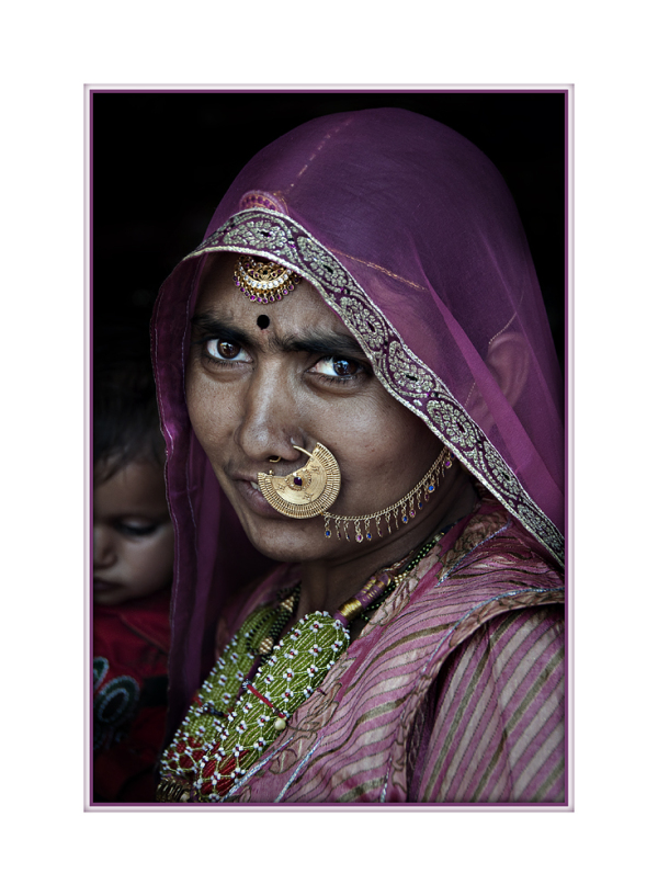 Mother from Rajasthan