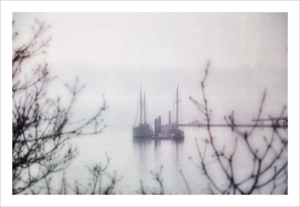 Still misty ...