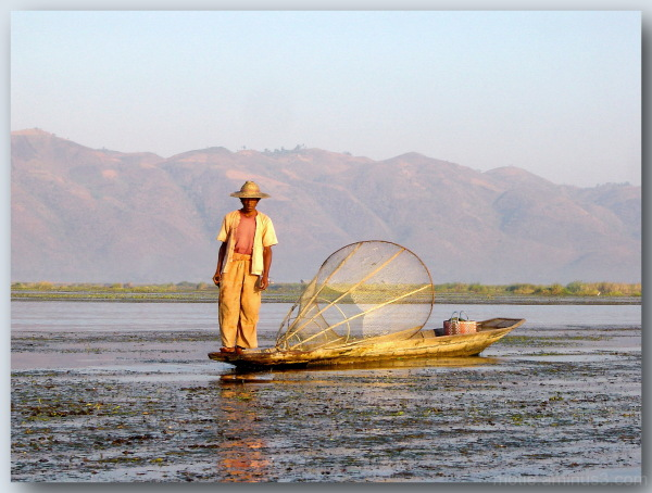 Fisherman In lake Inle. 2