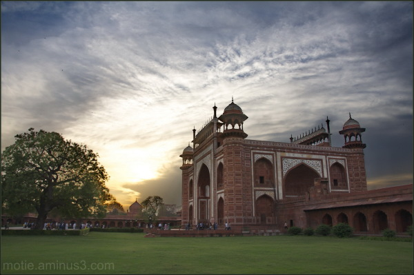 Taj Mahal rajasthan landscape