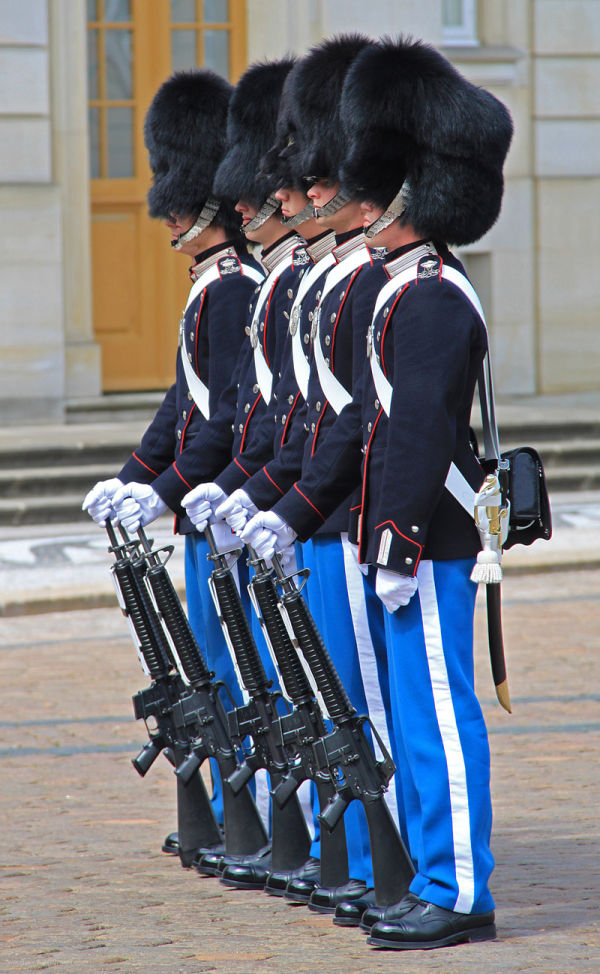 Changing the Guard Copenhagen
