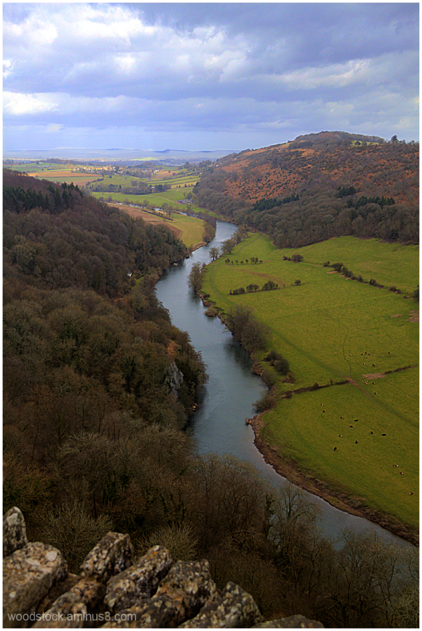 River Wye From Yat Rock