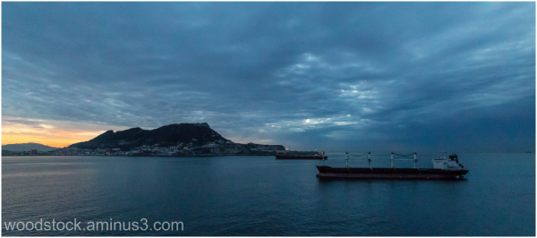 Gibraltar At Dawn