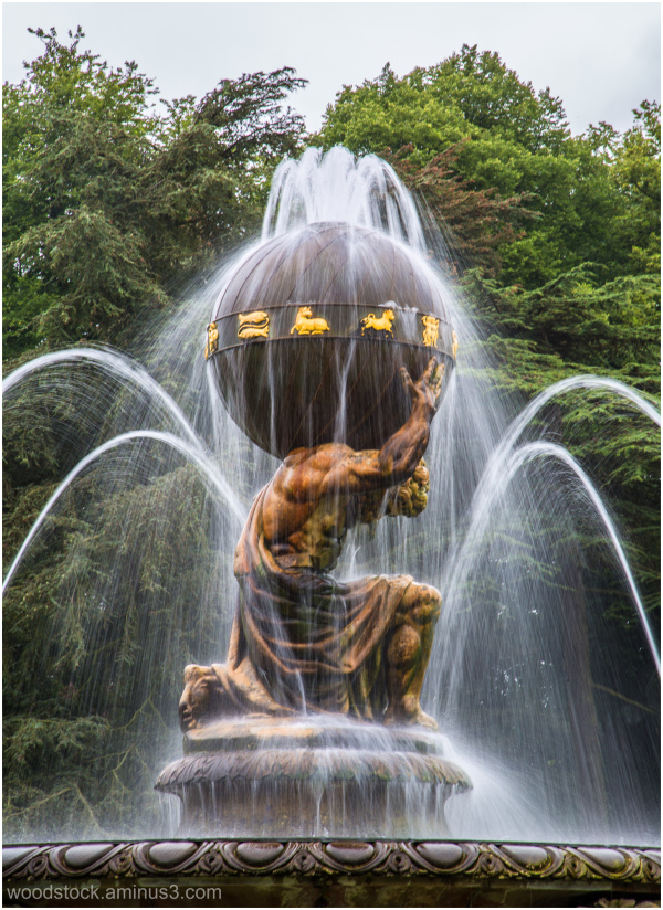 Atlas Fountain - Castle Howard