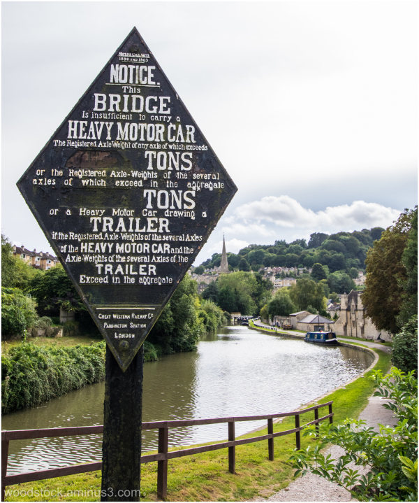 On the Canal at Bath