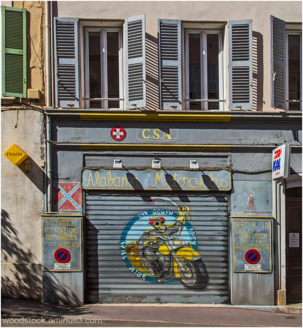 Alabama Motorcycles, Cannes, France