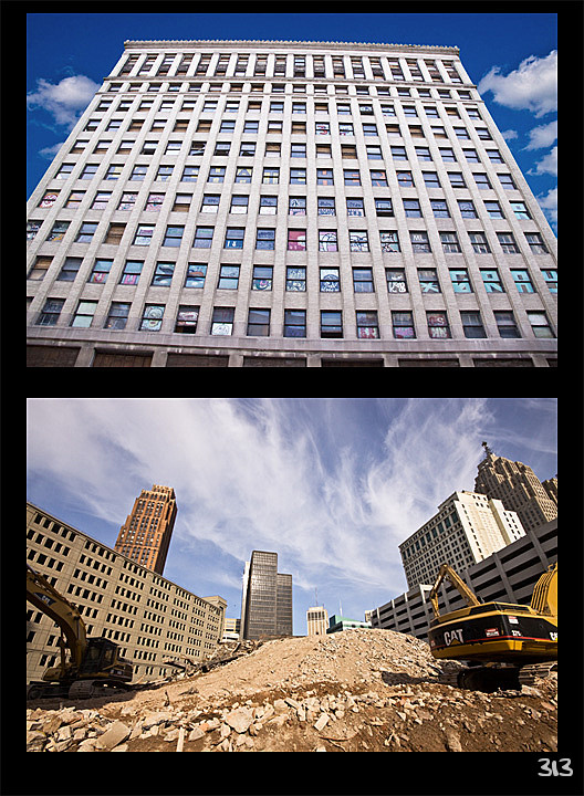 The Lafayette Building Finale (before & after)