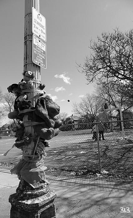 Street Memorial # 38 Life Goes On