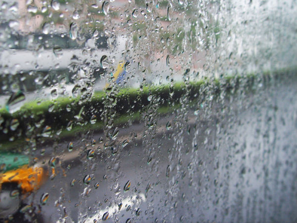 Morning rain in Beijing
