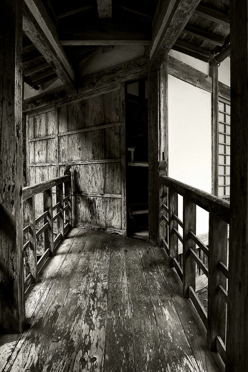 The entrance to the Zendo of a buddhist temple