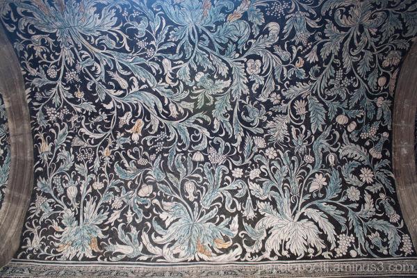 Detalle del techo, ExConvento de Malinalco