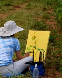 Sunflower Artist