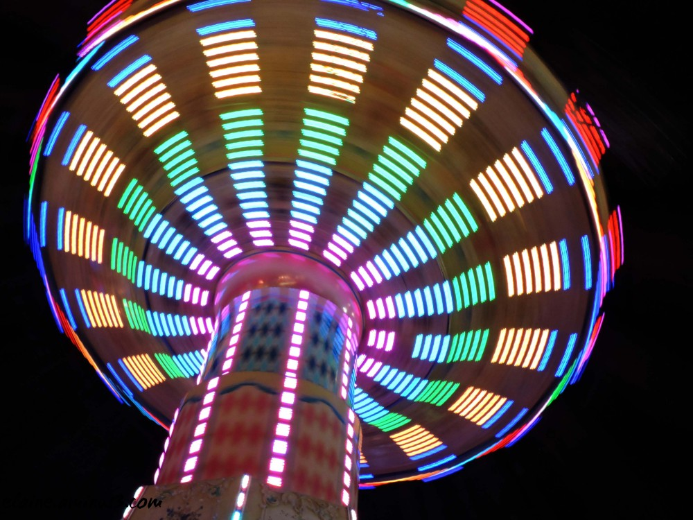 night lights at the fair