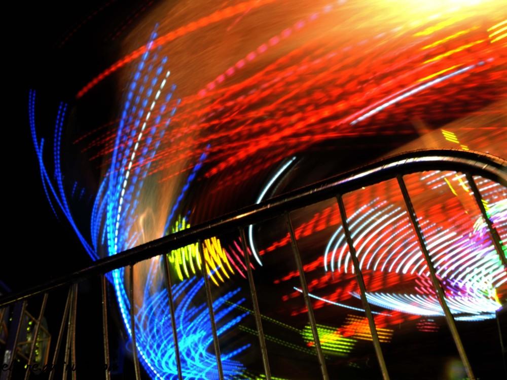 carnival ride lights