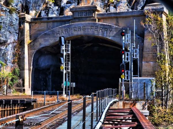 B&O Railroad Train Tunnel