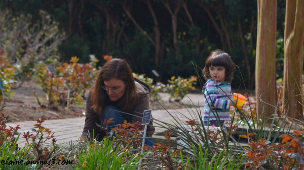 gardener and child