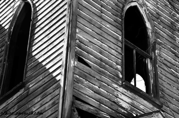 abandoned church