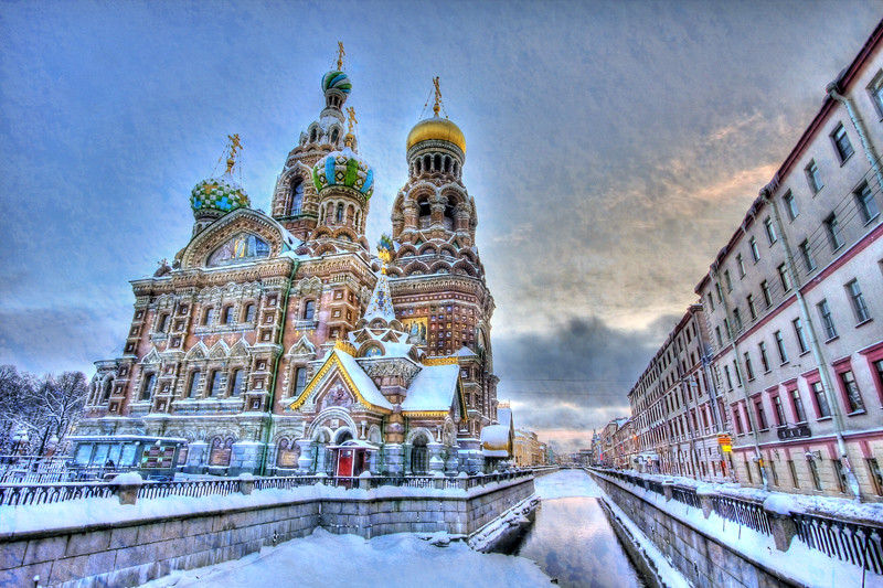 Church on spilled blood. St Petersburg.