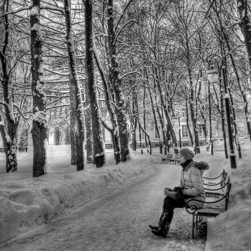 St Petersburg, Mikhailovskij park.