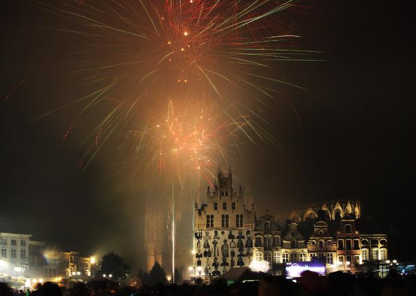 National day in Mechelen