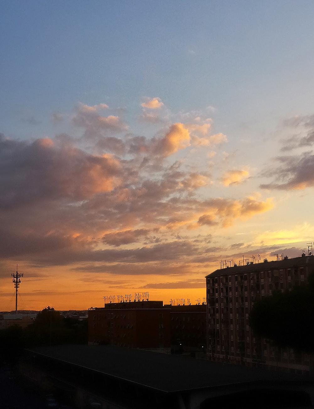 Autumn in the sky