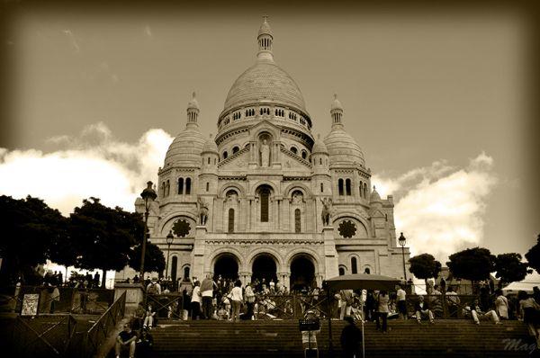 Sacré Coeur à Montmartre, Paris (juin 2009)