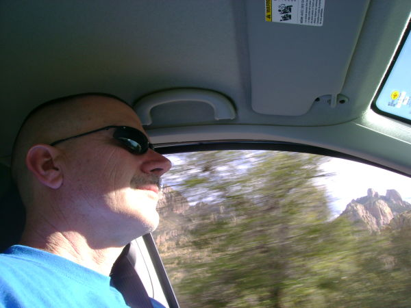 Tim in the Chisos