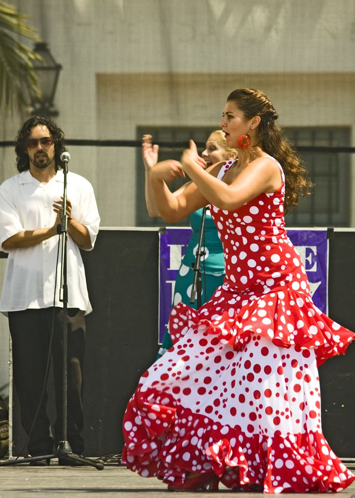 Flamenco Dancer Santa Barbara