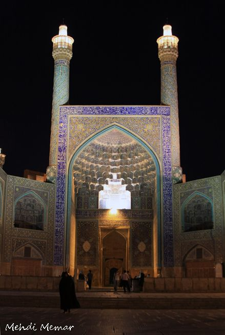 Masjed Shah in Isfahan