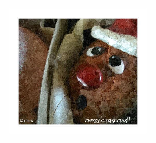 box ornaments santa
