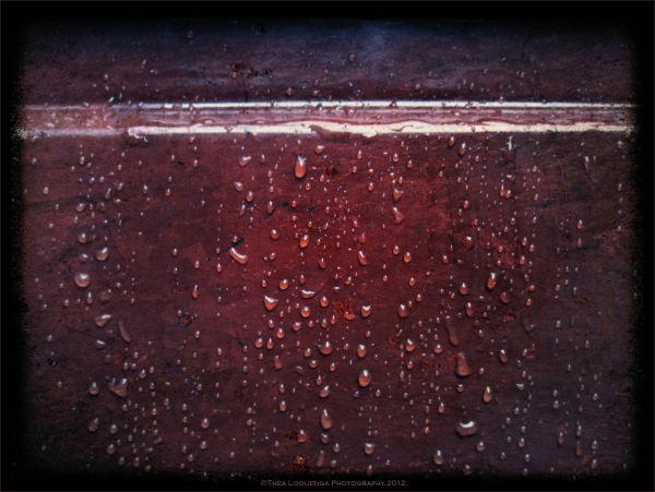 raindrops door macro