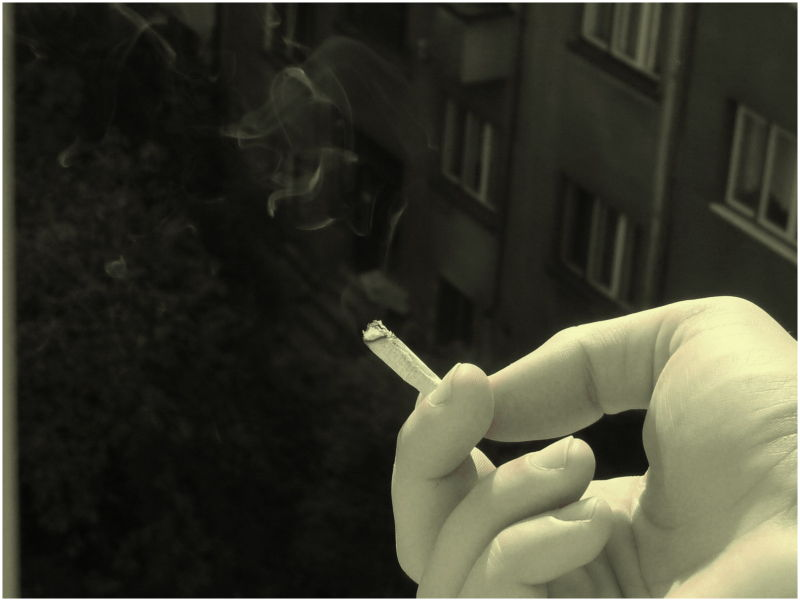 and cigarette afterwards..