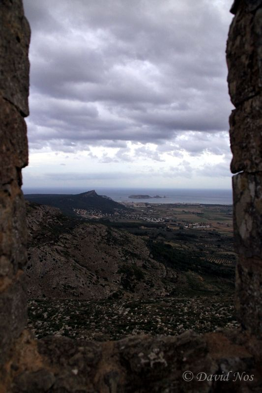 View from the top of the Montgrí Castle