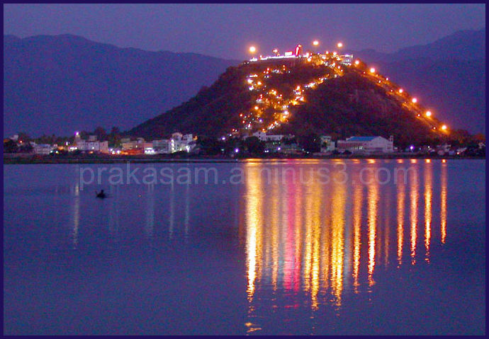 Palani Hill view at night