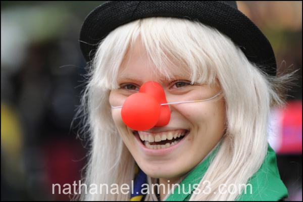 Clown brésilienne...