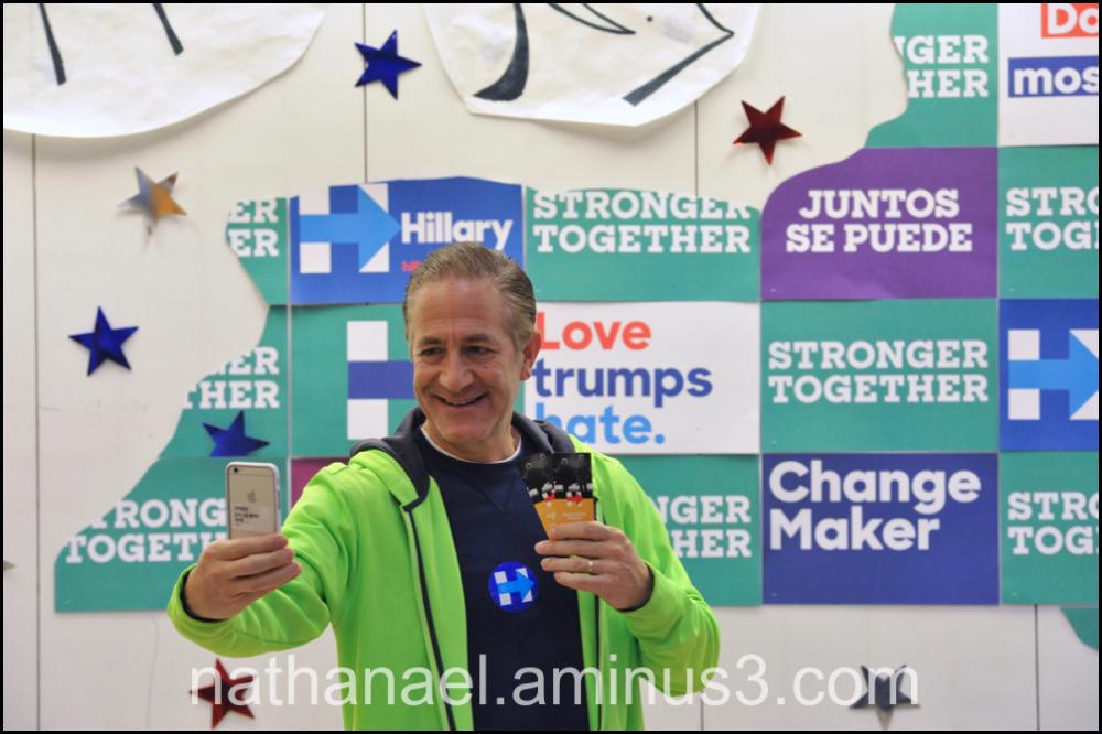 Vote for Clinton...